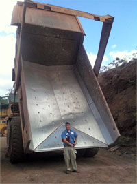 Dump Truck Bed Liners