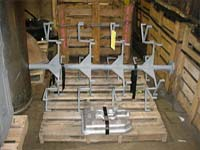 Manganese steel products