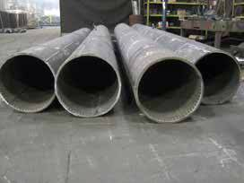Chromium Carbide Steel Pipes