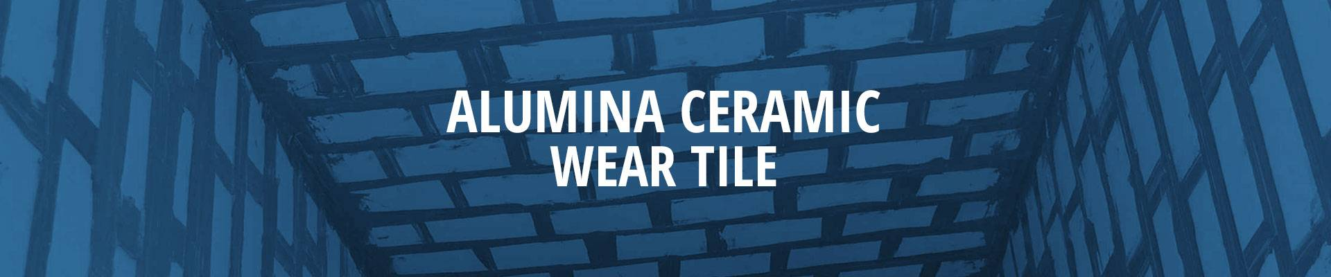 Alumina ceramic wear tile