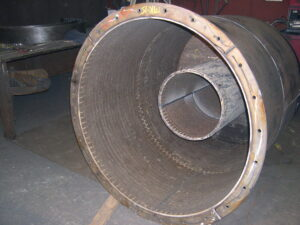 Chromium Carbide Overlay lined pipe